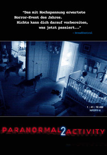 Filmplakat Paranormal Activity 2