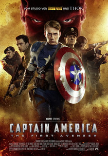 Filmplakat Captain America - The First Avenger