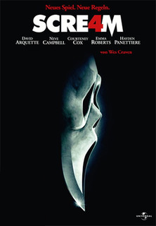 Filmplakat Scream 4