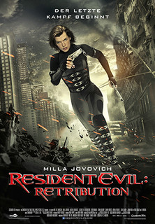 Filmplakat Resident Evil 5: Retribution