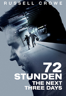 Filmplakat 72 Stunden - The Next Three Days