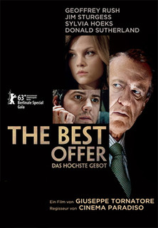Filmplakat The Best Offer - Das höchste Gebot