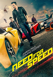 Filmplakat Need For Speed