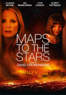 Filmplakat Maps To The Stars