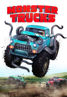 Filmplakat Monster Trucks