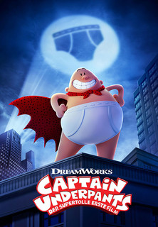 Filmplakat Captain Underpants - Der supertolle erste Film