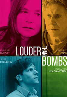 Filmplakat Louder Than Bombs