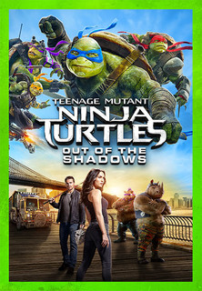 Filmplakat Teenage Mutant Ninja Turtles 2: Out Of The Shadows