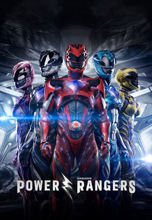 Filmplakat Power Rangers