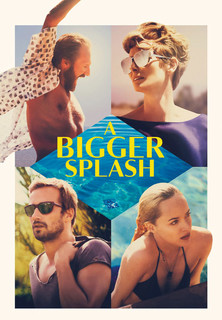 Filmplakat A Bigger Splash