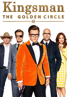 Filmplakat Kingsman 2: The Golden Circle