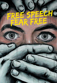 Filmplakat Free Speech Fear Free