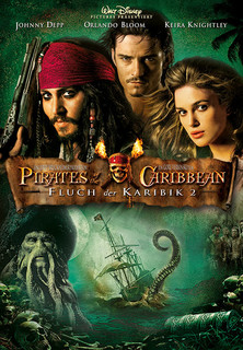 Filmplakat Pirates of the Caribbean - Fluch der Karibik 2