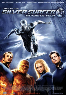 Filmplakat Fantastic Four: Rise of the Silver Surfer