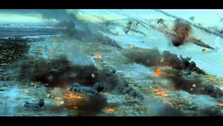 Szenenbild aus dem Film 'World Invasion: Battle Los Angeles'