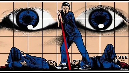 Szenenbild aus dem Film 'With Gilbert & George'